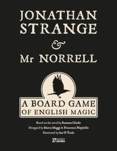 Jonathan Strange and Mr Norrell: A Board Game of English Magic - Osprey Games