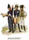 Masséna (2) with a captain of Ingénieurs géographes (1) and his son and ADC, Count Prosper d'Essling (3) before the Lines of Torres Vedras, autumn 1810.