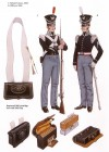 Infantryman and Officer, 1832