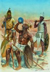 SHERDEN MERCENARIES MARCHING TO KADESH, 1274 BC