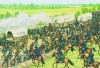 Attack on the Confederate wagon train at Paineville, April 5, 1865