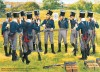 A group of soldiers of the Füsilier-Bataillon of the Colbergsches Infanterie-Regiment on shooting exercise, summer 1811
