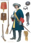 RESTORATION TROOPER, OXFORD'S BLUES, 1685–88