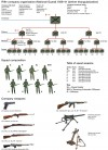 ORGANIZATION AND WEAPONS OF A RIFLE COMPANY