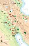 The Iraqui invasion of Iran, 1980