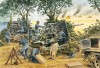 Luftwaffe 88mm guns engaging British armour, Cagny, 18 July 1944