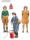 'Land girl', Women's Land Army; 'Lumber Jill', Women's Timber Corps & Fire Guard 'No.2'