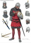 Armoured Condottiere, Italian style, early 14th century