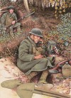 Choctaw Code Talker, 142nd infantry, 36th (Infantry) Division, US army in the Meuse-Argonne Offensive, 1918