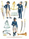 Lieutenant and midshipmen: uniforms, weapons and personal effects