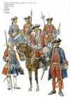 Swiss Guards, 1740s and 1750s