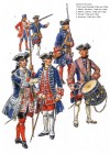 Gardes-Francaises (The French Guards, 1740s and 1750s