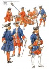 Canonniers-Bombardiers 1750-60