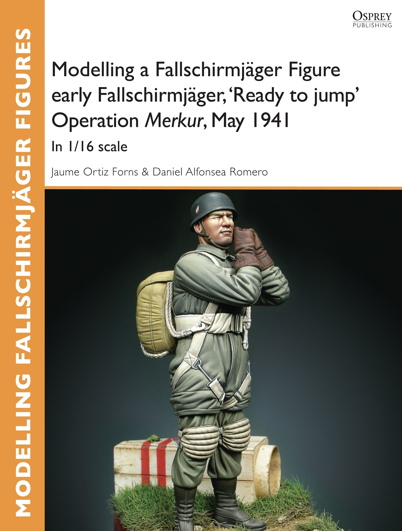 Modelling a Fallschirmjäger Figure early Fallschirmjäger, 'Ready to jump' Operation Merkur, May 1941