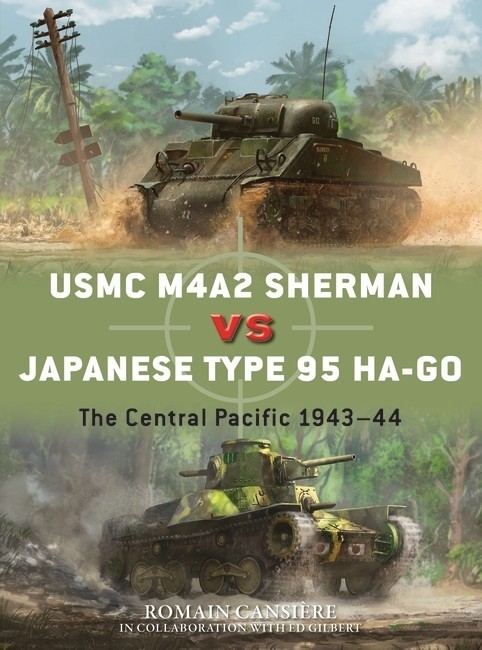 USMC M4A2 Sherman vs Japanese Type 95 Ha-Go