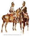 Mounted Jäger and Light Dragoon, summer field service uniform, c. 1800