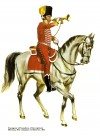 Trumpeter of Cazadores of the regiment Olivenza, élite company (carbineros), 1806