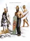 German warriors, 1st century BC - 1st century AD.