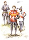 Dismounted men-at-arms