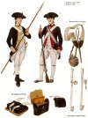 Infantryman and Officer, 1780