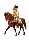 Ryadovoi, Guards Cavalry Corps, everyday uniform, 1799-1800
