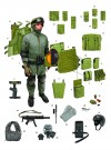 FIRST-GENERATION CLOSE QUARTERS BATTLE EQUIPMENT