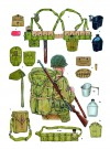 INFANTRYMAN'S EQUIPMENT, 1943–44