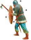 Viking warrior Ashdown, 8 January 871