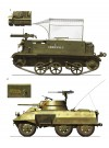 C 1: UNIVERSAL CARRIER Mk 2; 1er COMPAGNIE, 43e RÉGIMENT D'INFANTERIE COLONIALE; COCHINCHINA, 1951