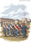 TRAINING OF THE 1ST MINNESOTA, FORT SNELLING, 1861