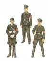 PRE-WAR BLACK SERVICE UNIFORMS