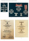 THE IRON CROSS, KNIGHT'S CROSS AND AWARD DOCUMENTS