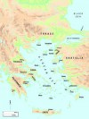 The Aegean in the Late Bronze Age, the world of the Mycenaeans, the Trojans and the Hittites, three peoples at the apogee of their respective powers.