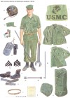 Basic crewman uniforms and maintenance equipment, 1967–68