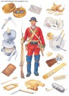 Light Infantryman, 55th Regiment 1758