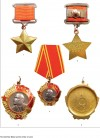 The Gold Star Medal and the Order of Lenin