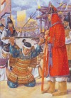 Wako surrender to Koreans on Tsushima, 1389