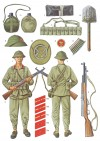 Recruit uniform and equipment, North Vietnam