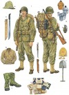 Marauder uniforms and weapons, 1944