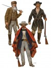 """John Brown and Members of his """"Provisional Army"""""""