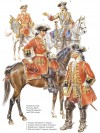 Gendarmes and Chevaux-légers Guard Companies, mid-18th century