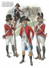 Line Infantry & Artillery, Holland & Germany 1794-1795
