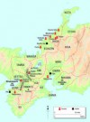 The fortified temples of the Ikko-ikki, and Oda Nobunaga's campaigns against them from 1569 to 1582 (© Osprey Publishing Ltd)