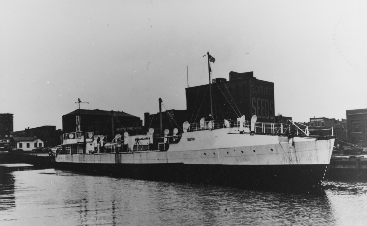 SS Truxton - the former USS Truxton (DD-14) after conversion to a banana boat