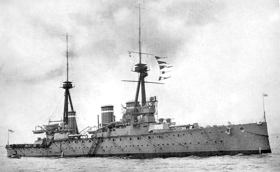 Ikoma, started during the   Russo-Japanese war, and carrying a battleship's main battery, it and its sister Tsukuba were the first battlecruisers