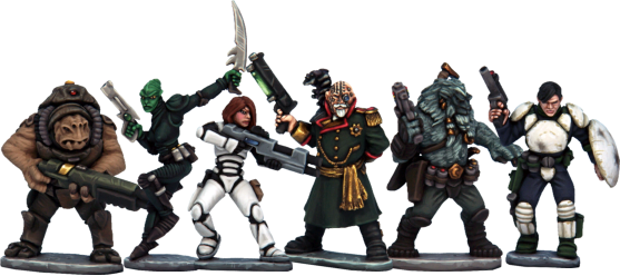 North Star Figures The Silver Bayonet miniatures