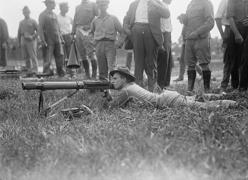 lewis gun training