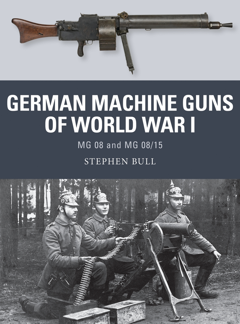 German Machine Guns of World War I cover