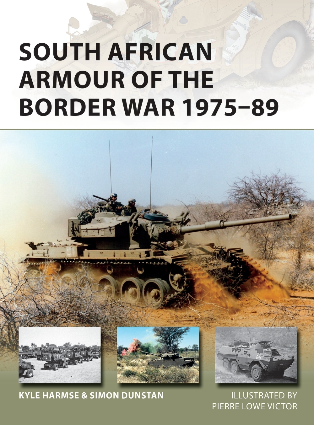 south african armor of the border war