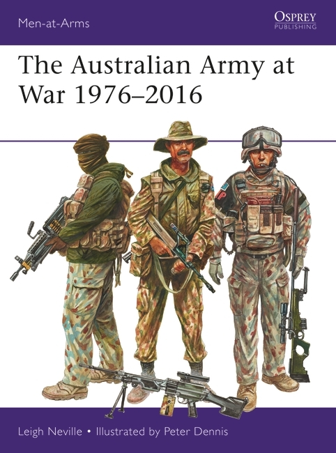 The Australian Army at War 1976–2016 Cover